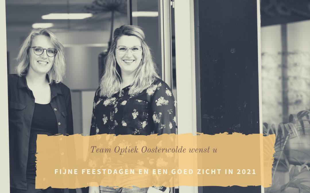 Team Optiek Oosterwolde wenst u fijne feestdagen!